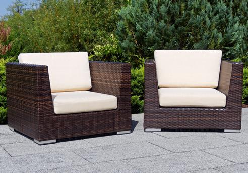 Rattan - the current must-have in the garden furniture world.