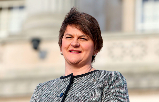 The current DUP leader, Arlene Foster, plunged in unthinkingly to announce her support for the Leave campaign Picture: Brian Lawless/PA Wire