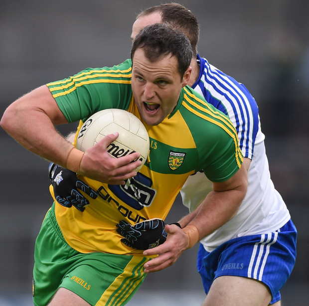 In Michael Murphy's case, blanket defences have robbed us of the opportunity to see one of the most skilful players in the country in action close to goal. Photo: Ramsey Cardy/Sportsfile