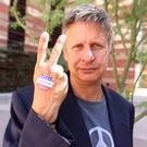 Middle ground: Gary Johnson, Libertarian Party presidential nominee