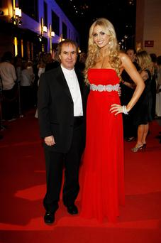 Chris de Burgh with his daughter Rosanna