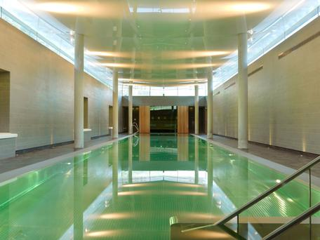 The Lap Pool in Kenmare is a cocoon buried deep in the building