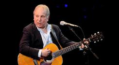 Still got it: Paul Simon had the audience up swaying and jiggling