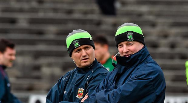 Noel Connelly, left, and Pat Holmes didn't hold back about their experience at the helm in Mayo