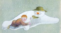 Image from 'The Snowman' by Raymond Briggs