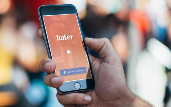 The Hater dating app