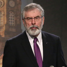 SPOT THE LINK: Gerry Adams — it seems that Sinn Fein is now Ireland's answer to Ukip