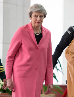 Theresa May. Photo: AP