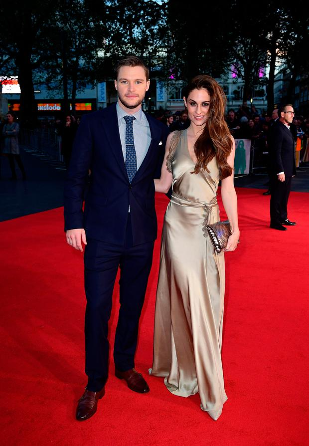 Jack Reynor and fiancée Madeline Mulqueen
