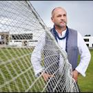 Writer Colum McCann at Clonkeen College.