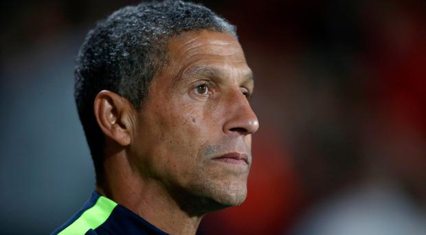 When you think of a Chris Hughton team, first and foremost you think of organisation and a side that is hard to beat. Photo: PA