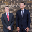 Taoiseach Leo Varadkar (right) and Minister for Public Expenditure Paschal Donohoe