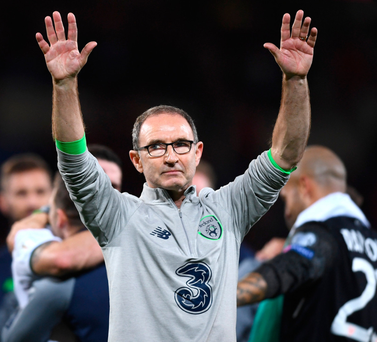 'Given how unlikely qualification seemed after the defeat by Serbia, I would have thought O'Neill's critics might at least give him credit for masterminding the victory in Cardiff.' Photo: Sportsfile