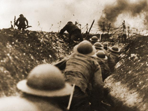 The 16th Irish Division on the Somme during World War I