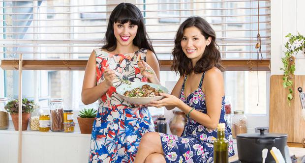 SUCCESS: 'We knew we were tied as a double act, the Ant and Dec of the food world ,' says Jasmine Hemsley, left, of her partnership with her sister Melissa