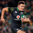 Jacob Stockdale Photo: Sportsfile