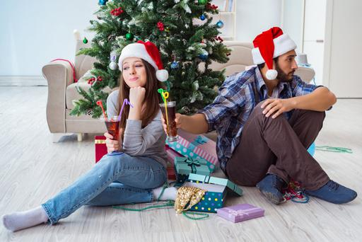 On the naughty list: Getting through the festive period can be a challenge