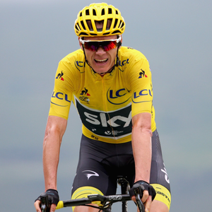 Chris Froome in action