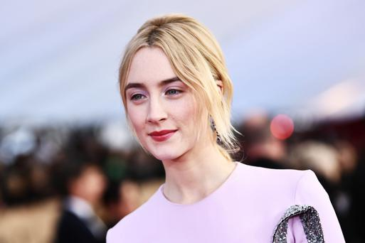 Saoirse Ronan at the 24th annual Screen Actors Guild Awards