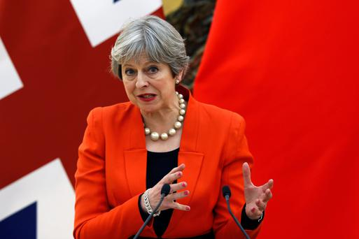 Theresa May: Her Brexit problems are also Ireland's problems.