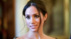 Keep it in the family: Meghan will have to be more diplomatic when it comes to certain issues such as Trump. Photo: AFP/Getty Images
