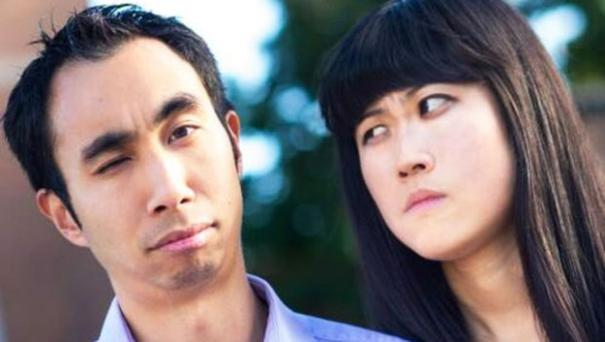 Kristy Shen and husband Bryce Leung strike a funny pose on Twitter