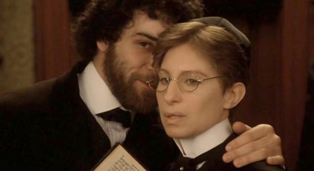 Women in pain: Streisand's character had to masquerade as a man to get an education in Yentl