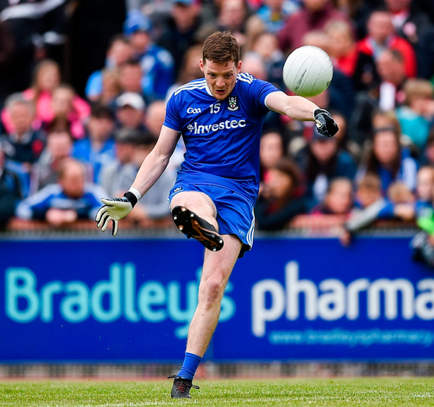 'I'd like to show you the point Conor McManus got late in the game last Sunday. Look at that, look at the skill there, a particular skill which you wouldn't find in any other game on the planet'