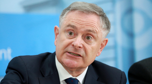 Labour leader Brendan Howlin. Photo: Frank McGrath
