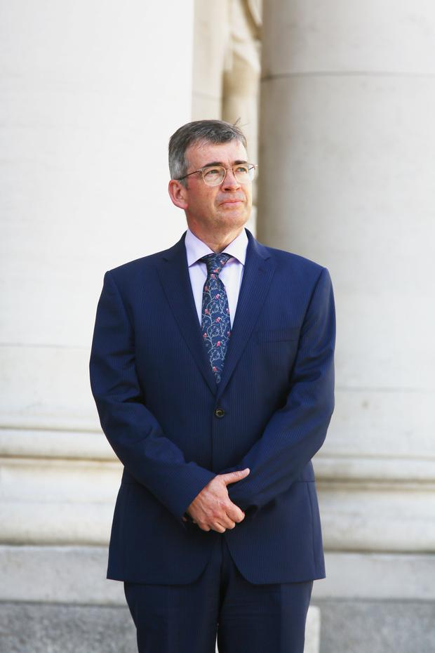 Landmark appointment: Drew Harris's role as the new Garda Commissioner is causing much debate