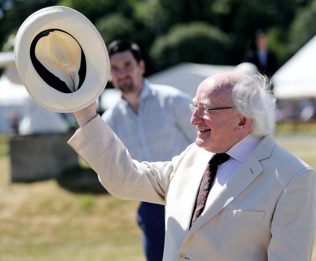 Pushed the boundaries: President Michael D Higgins at Aras an Uachtarain