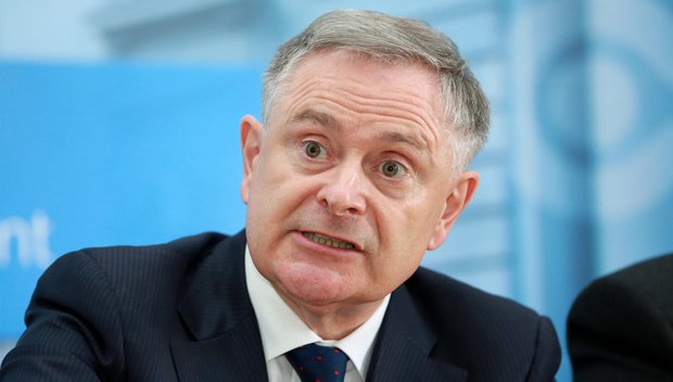 'Open': Labour leader Brendan Howlin defended his time in charge. Photo: Frank McGrath