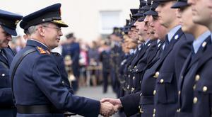 NEW DIRECTION: New Garda Commisioner Drew Harris pictured at a Garda passing out ceremony in Templemore, Co Tipperary, earlier this month. Photo: Don Moloney