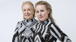 Josephine Hynes and her designer daughter Joanne