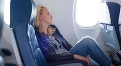 Who doesn't love a snooze on a plane journey?