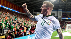 'A player should not be subjected to a weekly ordeal because he refuses to honour an army which murdered unarmed people in the streets of his home town.' Photo: Sportsfile