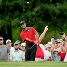 Tiger Woods on his way to winning the PGA Tour Championship at East Lake. Photo: Stan Badz/PGA TOUR