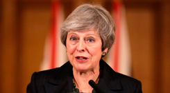 UK Prime Minister Theresa May has said the next seven days are 'critical' for Brexit Photo: AFP/Getty