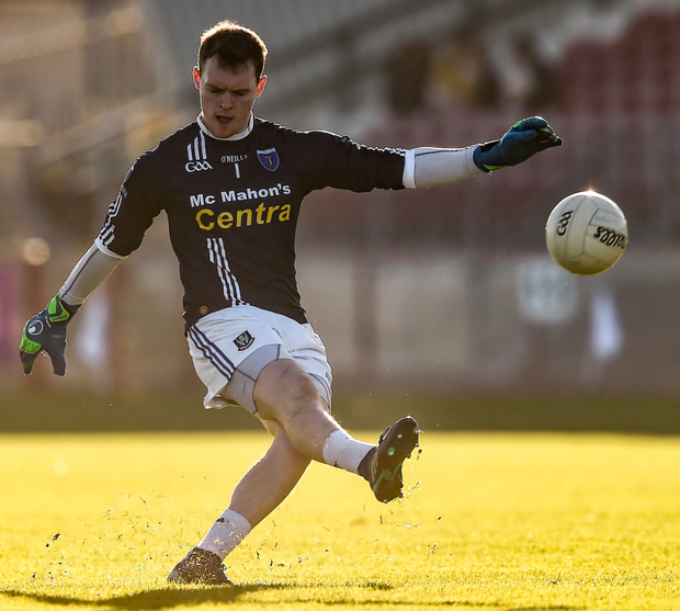 Had Rory Beggan been playing for Coleraine, Scotstown would probably have lost by double figures. Photo: Sportsfile