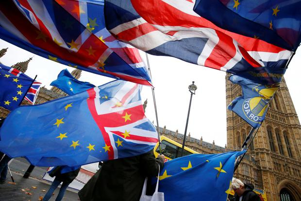 Falling into the abyss: The simple truth is that Britain decided all by itself to leave the benefits of EU membership. Photo: Reuters