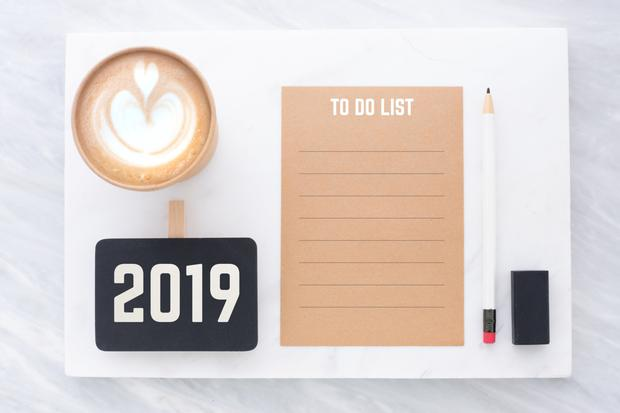 It's time to write your 2019 'To Do' list