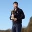 Padraig Harrington poses with the Ryder Cup after being appointed as the European Ryder Cup Captain for The 2020 Ryder Cup. Photo: Reuters