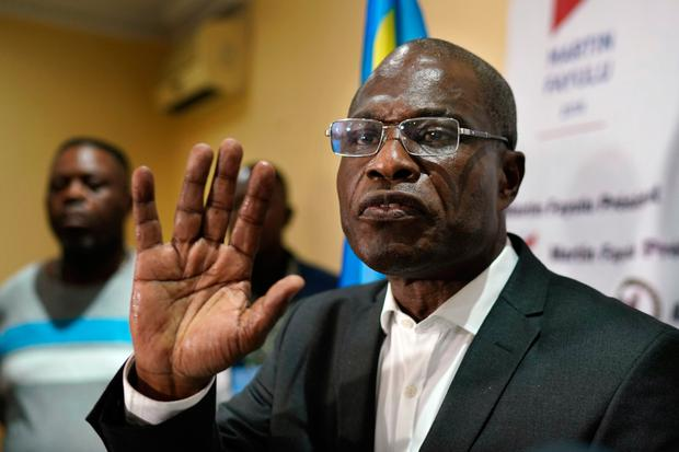 CONGO: Independent observers concluded Martin Fayulu had won the DRC's presidential election. Photo: AP