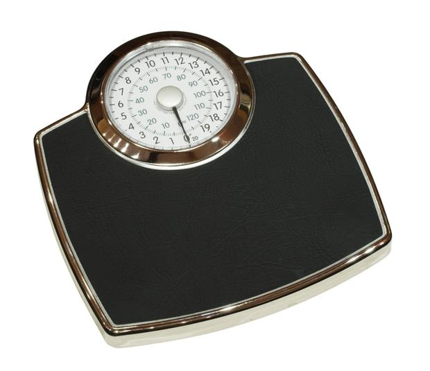 'So I weighed myself, then put in a new battery, and weighed myself again'