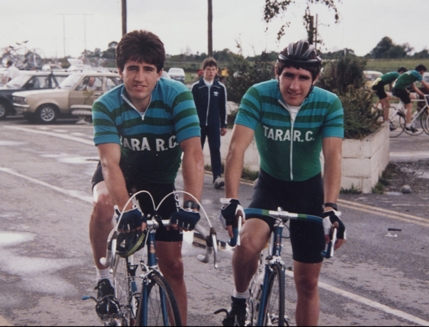 Raphael Kimmage with his brother Paul: 'It wasn't his first time to be mistaken for me and it always made us laugh because we both knew, deep down, that he was the better bike rider. And I'd never heard anyone say a bad word about him'