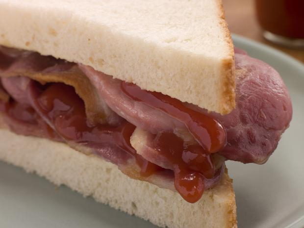 'We have a fondness for the rasher sandwich and crisps and red lemonade'