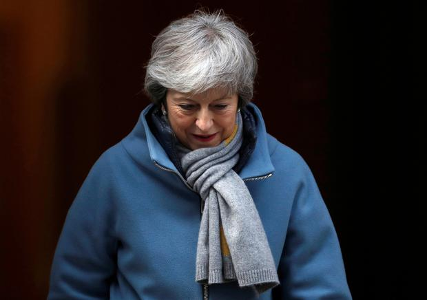 BRITS HAVING LAST LAUGH: We might find it is a dangerous narrative that underestimates Theresa May and UK. Photo: Reuters