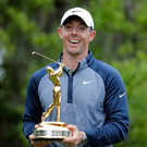 'Victory in The Players Championship changes everything for Rory McIlroy as it makes that string of top-six finishes look ominous for his rivals rather than himself'. Photo: AP