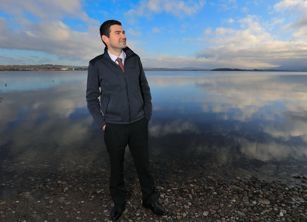 CHANGE: Minister of State Brendan Griffin on the shores of Lough Lein, Killarney National Park, Co Kerry. Photo: Valerie O'Sullivan
