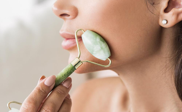 The Jade Face Roller is a popular Chinese beauty ritual